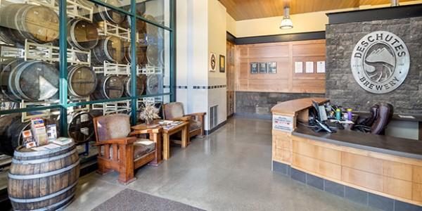 Deschutes Brewery Lobby