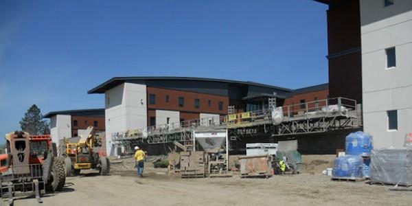 Oregon State Hospital Under Construction