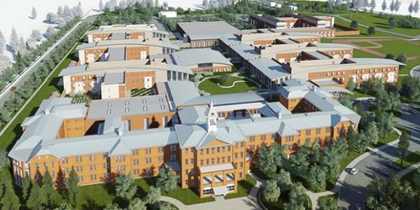 Oregon State Hospital Rendering